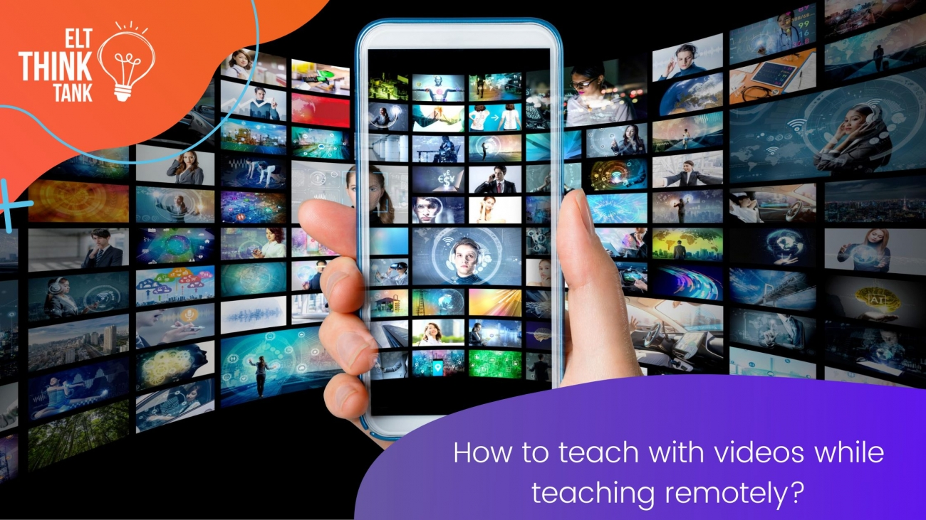 How to use videos while teaching remotely?