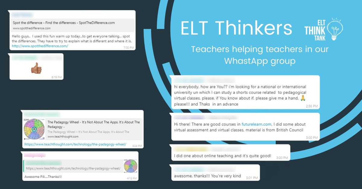 ELT Thinkers collaborate